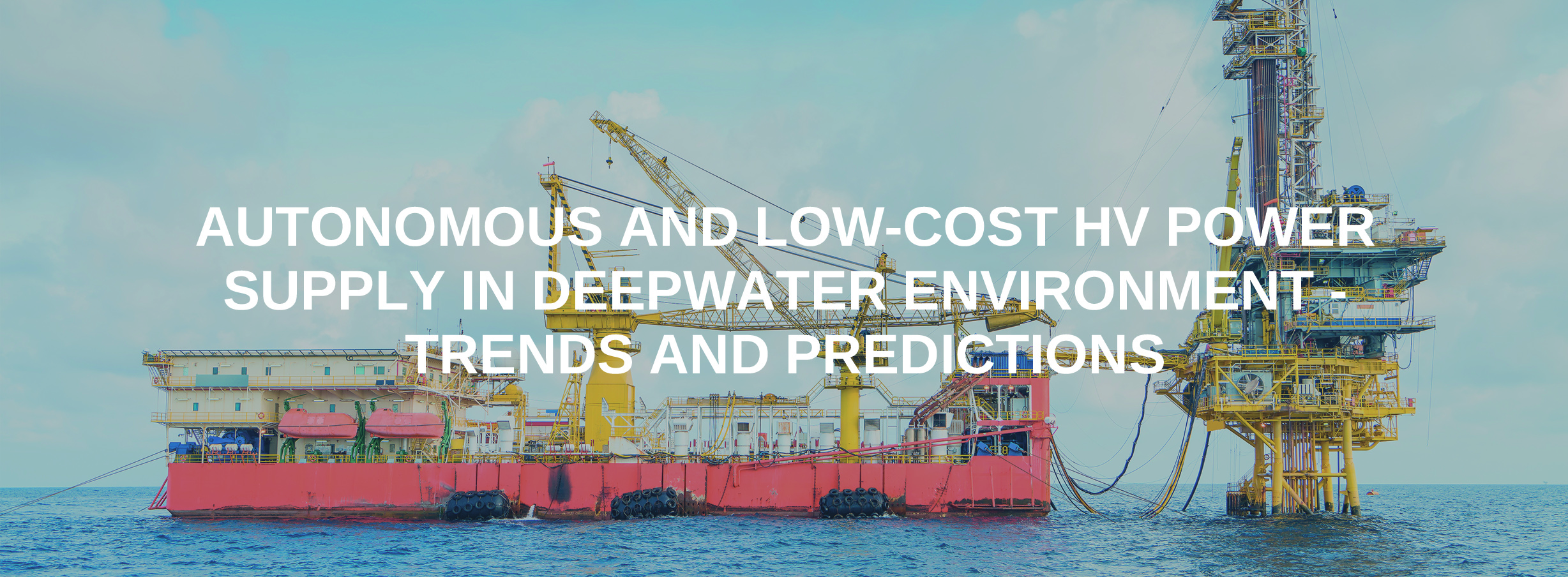 Autonomous and Low-cost HV Power Supply in Deepwater Environment
